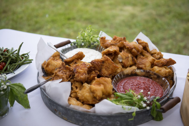Chesapeake Shore Weddings and Events southern style catering food eastern shore food Chesapeake Bay style