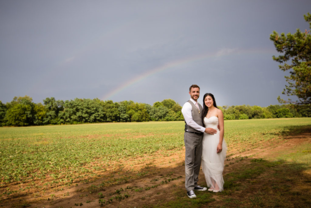 Chesapeake Shore weddings and events rainbow bride and groom eastern shore weddings country southern style weddings