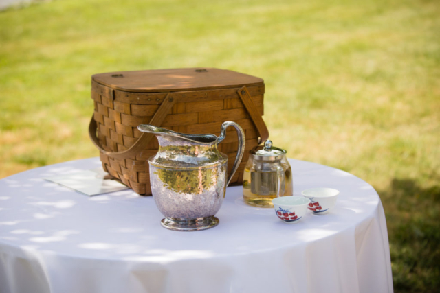 Chesapeake Shores Weddings and Events tea ceremony eastern shore weddings